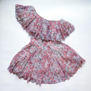 H&M x Giambattista Valli One-Shoulder Floral Dress